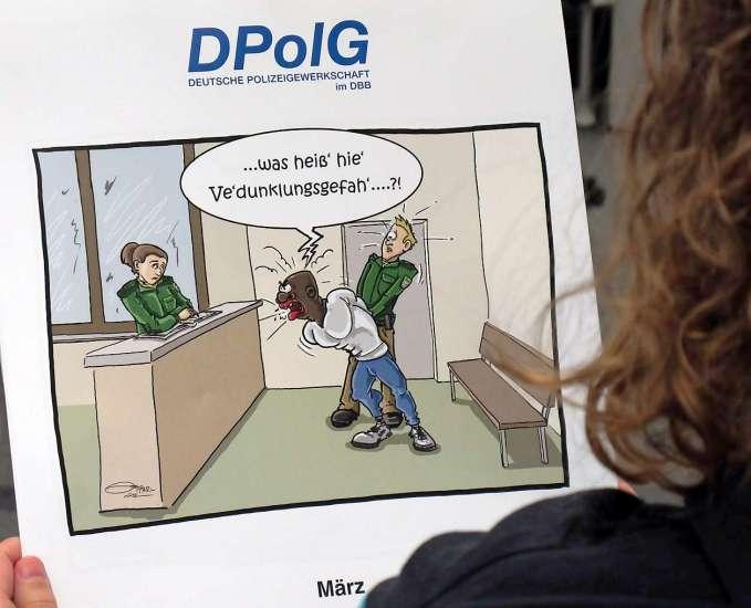 rassistischer Dreck aus der Feder der DPolG #1